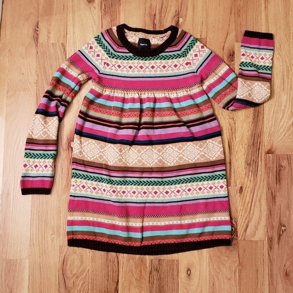 196ceca4460 GAP Other - Gap Kids Stripe Sweater Dress
